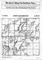 Ponto Lake T139N-R29W, Cass County 1992